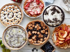 All your favorite seasonal flavors star in these super-easy desserts, which even a novice pie maker can perfect.