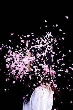 Under the rose petals. Photo by Robert Triscoli Portrait Photography, Fashion Photography, Colour Photography, Artistic Photography, Hello Friday, Foto Art, Beltane, Jolie Photo, Pretty Pictures