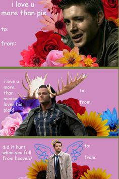 Okay it's official I'm giving everyone Supernatural Valentine's this year