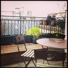 6. chair #marchphotoaday #roofgarden #Paris #magic