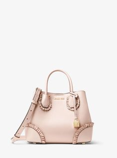 6f2dc7a9590a21 Ruffles Bag, Leather Satchel, Handbags Michael Kors, How To Wear, Shoulder  Strap