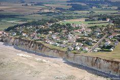 Photo aérienne de Quiberville - Seine-Maritime (76)