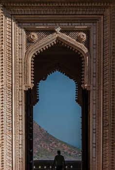 Hindu palace gate, Rajasthan, India