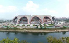 North Korea's obsession with weird, huge buildings  -  November 25, 2017.   Perhaps unsurprisingly, North Korea is also home to the largest sports arena in the world, May Day Stadium.