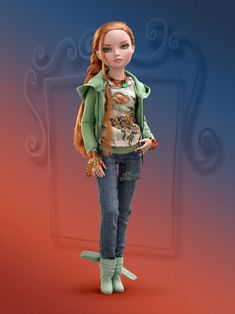"""Ellowyne """"Nothing Springs to Mind"""" Dressed doll   Wilde Imagination, Orig'ly $139.00"""