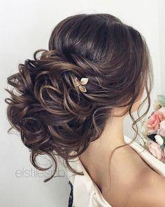 Wedding Hairstyles Half Up Half Down : Half-updo Braids Chongos Updo Wedding Hairstyles / www.deerpearlflow #BunHairstylesHalf