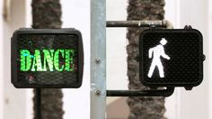 Dancewalk! - SoulPancake Street Team. I wish there were more cross walks like this! :)