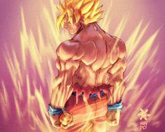 Goku super saiyan  live_by_chilin