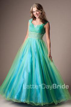 Bridesmaid & Prom, Ariel | LatterDayBride & Prom -Modest Mormon LDS Prom Dress