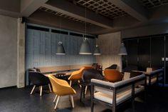 Inspiring for my basement (wall, ceiling, ...). L'intérieur du restaurant Farang à Stockholm, par le studio Futudesign | Décoration maison, meubles maison jardin et design intérieur sur Artdco.net