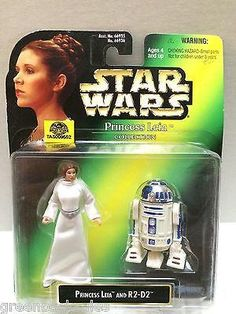 (TAS009552) - Star Wars Princess Leia Collection Princess Leia & R2-D2 – The Angry Spider Vintage Toys & Collectibles Store