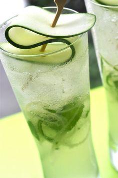 Ginger & Cucumber Sake Cooler