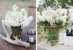 Bohemian Black-Tie Texas Ranch Wedding Reception // by The Nouveau Romantics