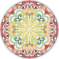 Mandala Drawing, Mandala Art, Turkish Pattern, Acrylic Pouring Art, Arabic Calligraphy Art, Circle Art, Blue Pottery, Circular Pattern, Pottery Designs