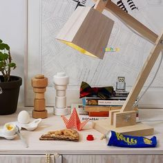 Wood Table Lamp by TAF Architects From Muuto TL128