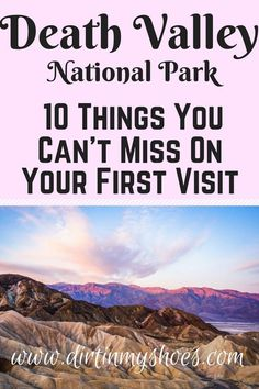 See the best hikes and viewpoints in Death Valley National Park with this list of things you can't miss -- written by a former park ranger! Travel Jobs, Ways To Travel, Best Places To Travel, Usa Travel, Usa Roadtrip, Beautiful Places In California, Las Vegas, Death Valley National Park, Death Valley Hikes