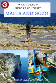 Travel Tips and Things to Know before visiting Malta and Gozo. The Mediterranean islands of Malta and Gozo are some of the must visit places to see in the world for 2018. Here's everything you need to know before booking your trip including what to eat, where to see the famous fishing boats, how to get to the Blue Lagoon and where the Game of Thrones was filmed. Plus lots of tips on how to save money while you're there. #malta #gozo #familytravelmalta #traveltipsmalta #gameofthrones