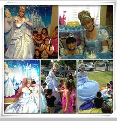 "Another wonderful review!  Today princess Kelsie ""Cinderella"" attended my lil princess Korrynn'z 4th Birthday tea party & she was Amazing just as if the Disney princess walz out of the cartoon Thank you so much for making my lil princesses day so magical , this day was perfect and we owe it all to you....everyone even the Adults were raving about Cinderella, today was a day she will never forget Extremely pleased !!!! Marisa M. (party 8/31/13)"