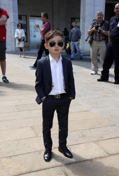 Alonso Mateo, 5, hits the Fashion Week scene. The dapper Instagram celeb has more than 90,000 followers.