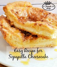 A simple and delicious recipe for sopapilla cheesecake. Entertaining doens't have to mean a lot of work in the kitchen. Great tips from Mary and Martha!