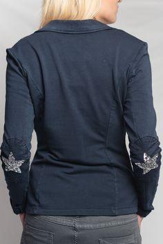 acheter la veste de tailleur femme couleur taupe avec strass sur les coudes le col et la poche. Black Bedroom Furniture Sets. Home Design Ideas