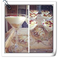 Mahlabiya cocktails