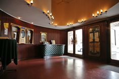 Film and Photo Shoot Locations in Austria: Lobby with Wood Panelled Walls, Filmcasino