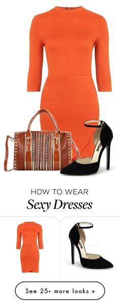 """Untitled #11279"" by nanette-253 on Polyvore featuring Topshop and Nicole Lee"