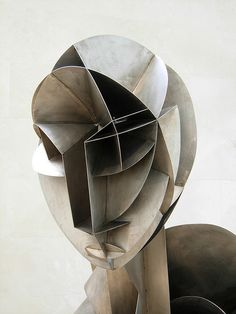Naum Gabo's Constructed Head No. 2 - a photo on Flickriver