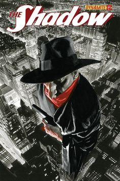 The Shadow n°12. Cover by Alex Ross.