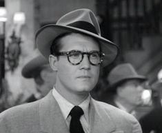 George Reeves as CLARK KENT / SUPERMAN (1952).