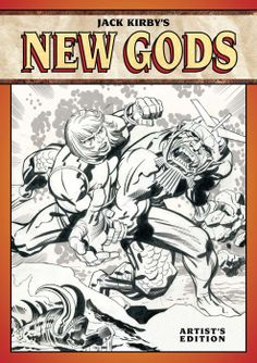 Jack Kirby and The New Gods get an IDW Artists Edition