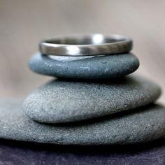 950 Palladium Wedding Band, Wedding Ring Made to Order on Etsy, $318.00
