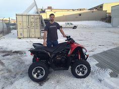 Ryan with his XC 450! Happy Riding Ryan!