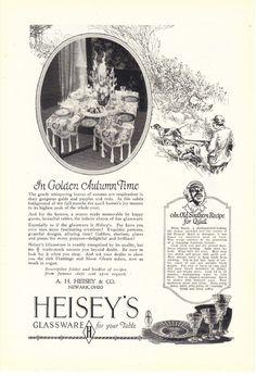 A.H. Heisey Glassware 1926 Print Ad Newark Ohio  #Heiseys