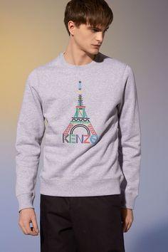Kenzo, Eiffel Tower Sweatshirt