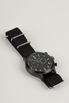 MWC MIL-TEC III PVD Stainless Steel Military Pilots Chronograph (MIL-TEC111PVD)