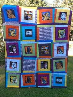Stop That Owl: A Star Wars Quilt