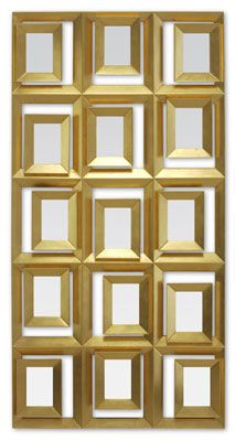 Beautiful Cubism mirror, Christopher Guy