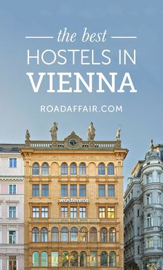 Traveling on a budget? Here is the ultimate list of the best hostels in Vienna, Austria! Europe Destinations, Europe Travel Tips, European Travel, Travel Advice, Budget Travel, Travel Guides, Travelling Europe, Traveling Tips, European Vacation