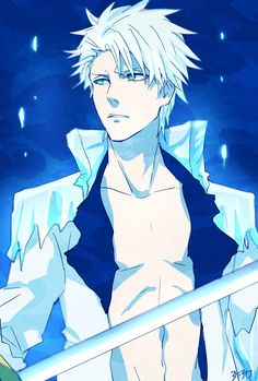 Toshiro Hitsugaya, the only man I wanna be stuck in the Arctic snow with ❄️