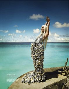 Jessiann Gravel-Beland | Luis Monteiro | Vogue India May 2012 | 'Water Sign' - 3 Sensual Fashion Editorials | Art Exhibits - Anne of Carversville Women's News