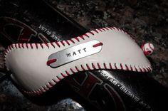Baseball Cuff Bracelet by SportzCrazyMama on Etsy, $25.00
