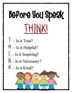 FREE Bullying Poster for classroom