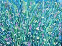 """Cliff Meadow"" Original Oil Painting"