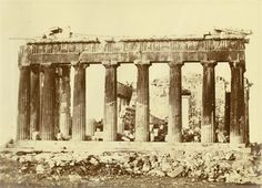 East front of the Parthenon (+ another; 2 works) par Constantine Dimitrios