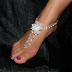 ohhh goodness. Soo wearing this instead of heels for my wedding! Barefoot. Sooo me.