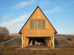 Gallery - Reception Hut / BLIPSZ + Atelier F.K.M. - 1