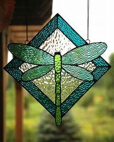 78+ images about Stained Glass - Butterflies/ Dragonflies on Pinterest | Stained glass, Dragon ...