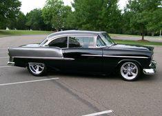 Wow, 1955 chevy Bel-Air custom, two door hard top.